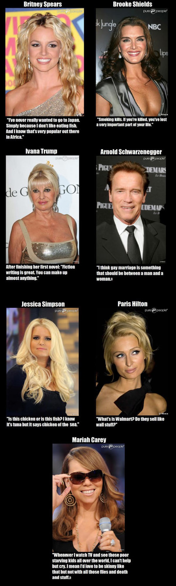 Celebrity Quotes funny picture