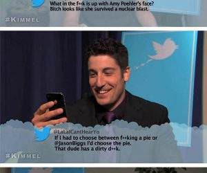 Celebs Reading Mean Tweets funny picture