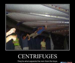 Centrifuges funny picture
