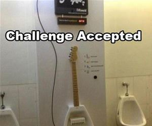 challenge accepted funny picture