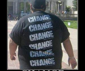 Fat Change Funny Picture