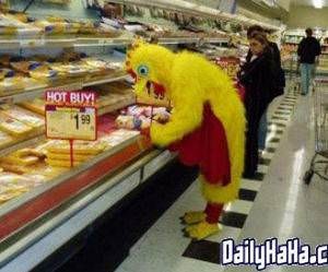 Chicken Shopping