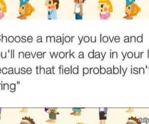 choose a major you love funny picture