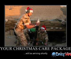 Christmas Care Package funny picture