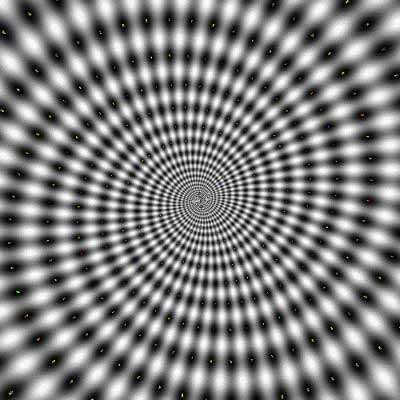 Circle Swirls Illusion