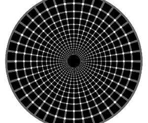 Circle Tunnel Illusion