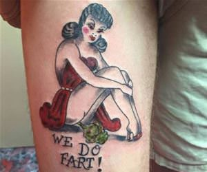 classy tattoo funny picture