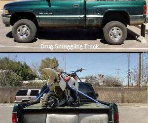 Clever Drug Dealer Truck funny picture
