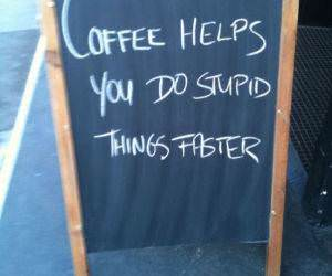 Coffee Helps funny picture
