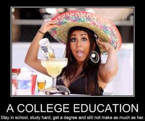 College Education funny picture
