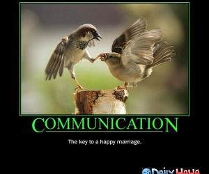 Communication funny picture