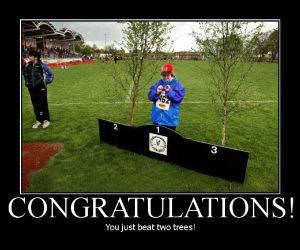 Congratualtions - 2 trees