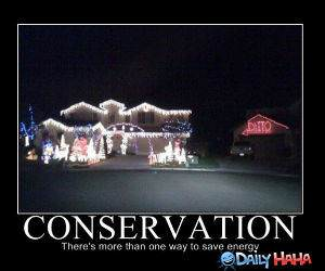 Conservation funny picture