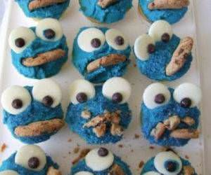 Cookie Monster Cupcakes funny picture