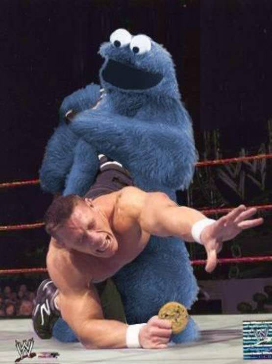 Cookie Monster Wrestling