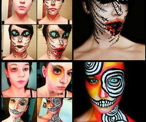 Cool Makeup Art funny picture
