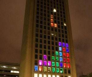 Tetris Building funny picture