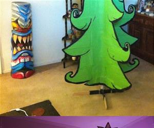 cool christmas tree funny picture