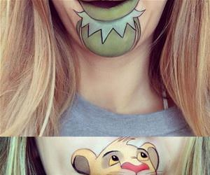 cool face makeup funny picture