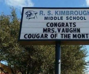cougar of the month
