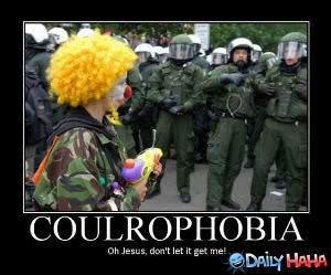Coulrophobia funny picture