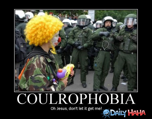 Funny Pictures Coulrophobia