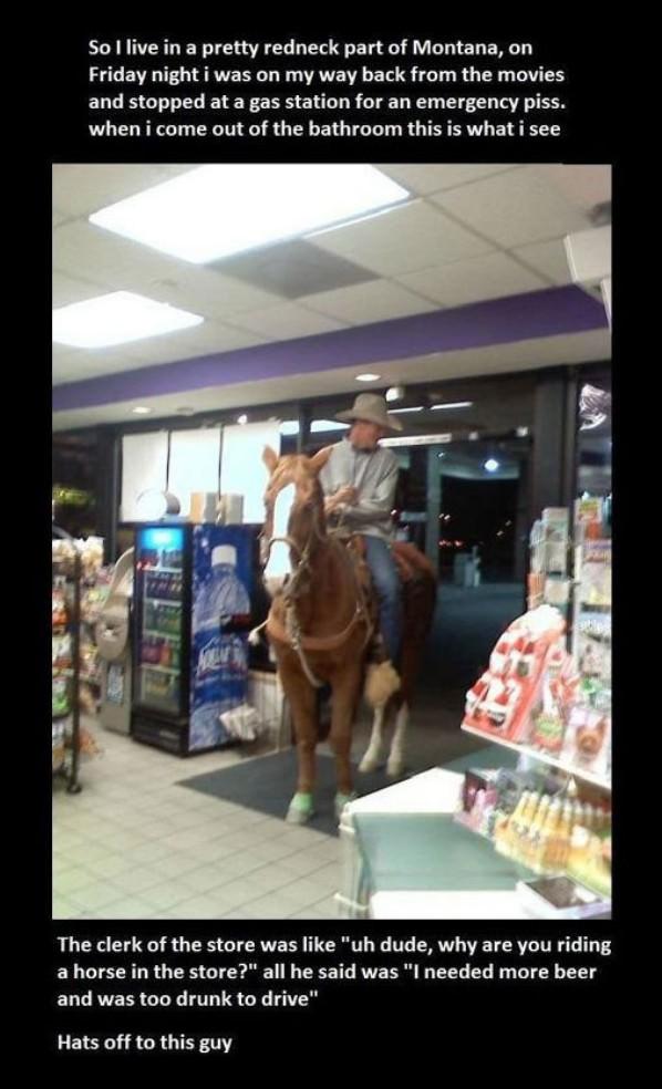 A Drunk Cowboy Cowboy