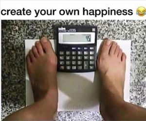 create your own happiness ... 2