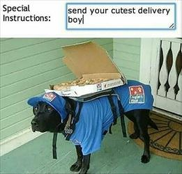 cutest delivery boy ... 2