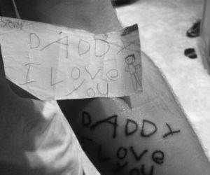 Daddy Love Tattoo funny picture