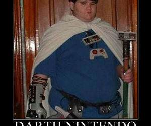 Darth Nintendo funny picture