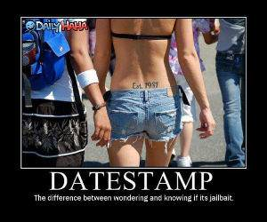 Date Stamps funny [icture