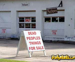 Dead People For Sale