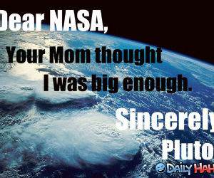 Dear NASA funny picture
