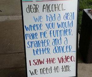 dear alcohol funny picture