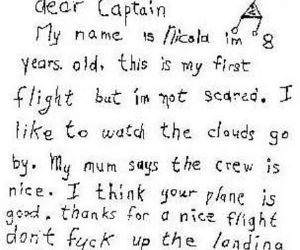 Dear captain Letter