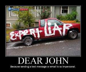 Dear John Funny Picture