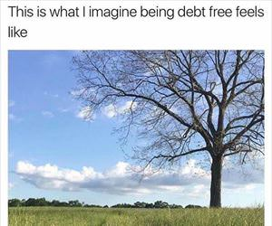 debt free feels like
