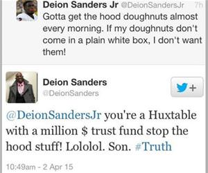 deion sanders parenting funny picture