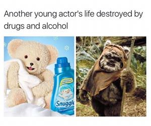 destroyed by drugs funny picture