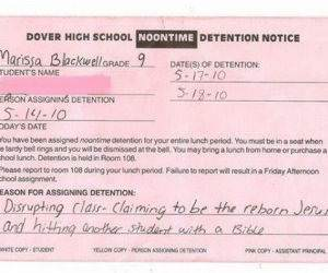 Detention Win funny picture