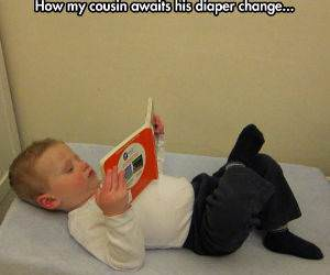 Diaper Change Time funny picture
