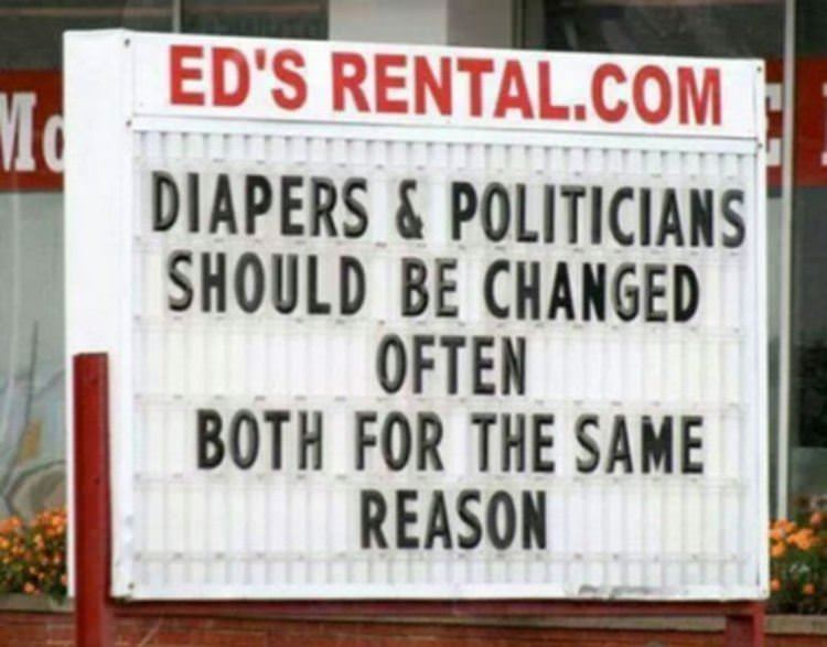diapers and politicians funny picture