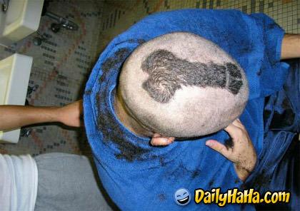 A true Dick head