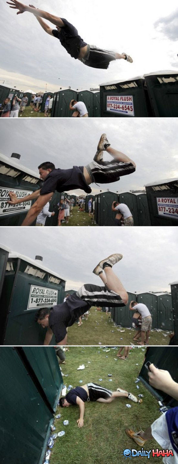 Jump Fail funny picture