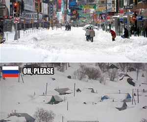 different levels of snow funny picture