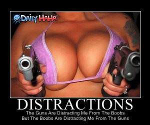 Distractions funny picture