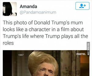 donald trumps mom