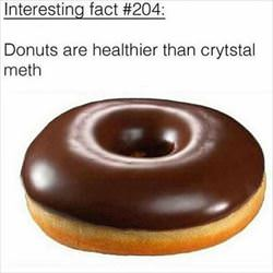 donuts are very healthy
