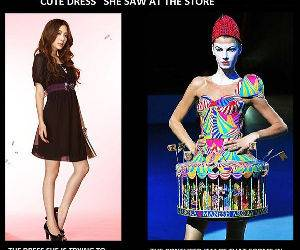 Dress Description funny picture